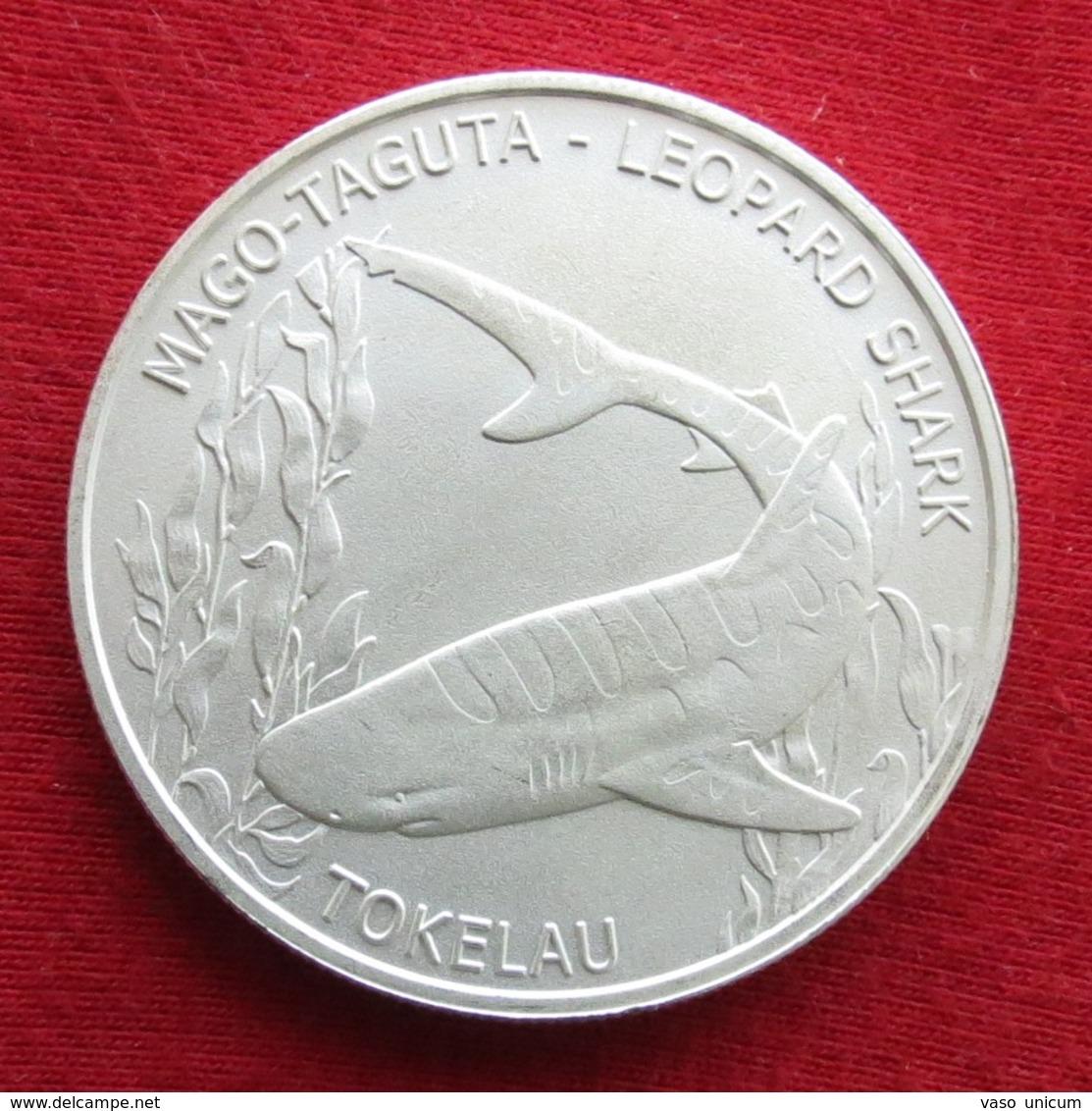 Tokelau 5 $ 2018 Leopard Shark - Monnaies
