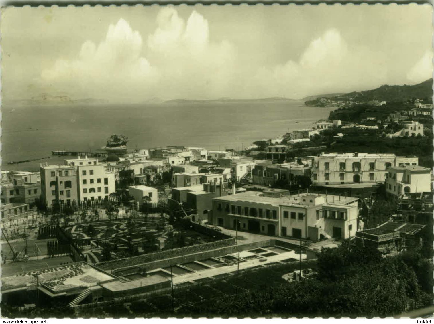 ISCHIA - LACCO AMENO ( NAPOLI ) PANORAMA - DIZ. BUONOCORE (2674) - Napoli (Naples)
