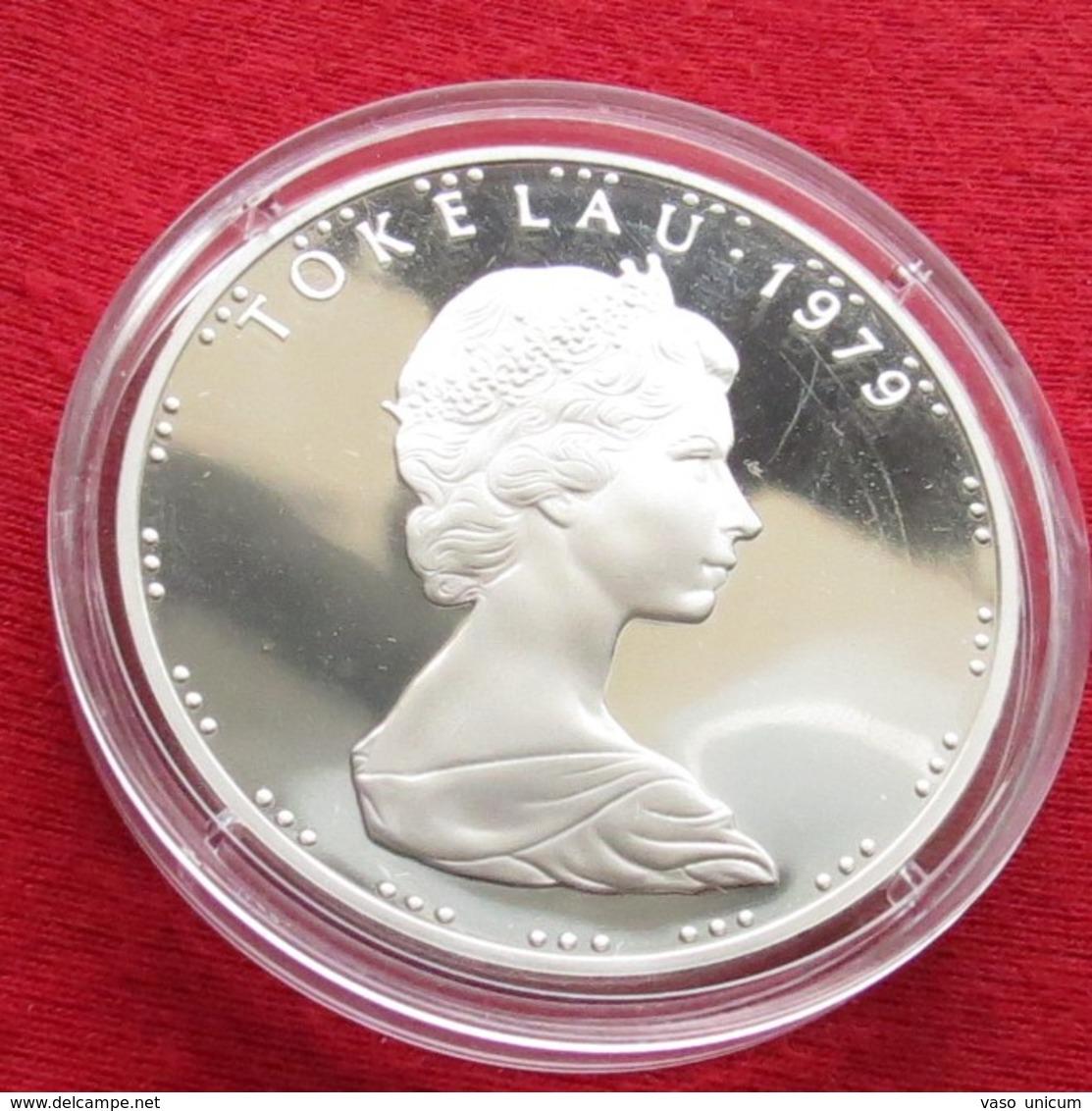 Tokelau $1 1979  Silver Proof - Monnaies