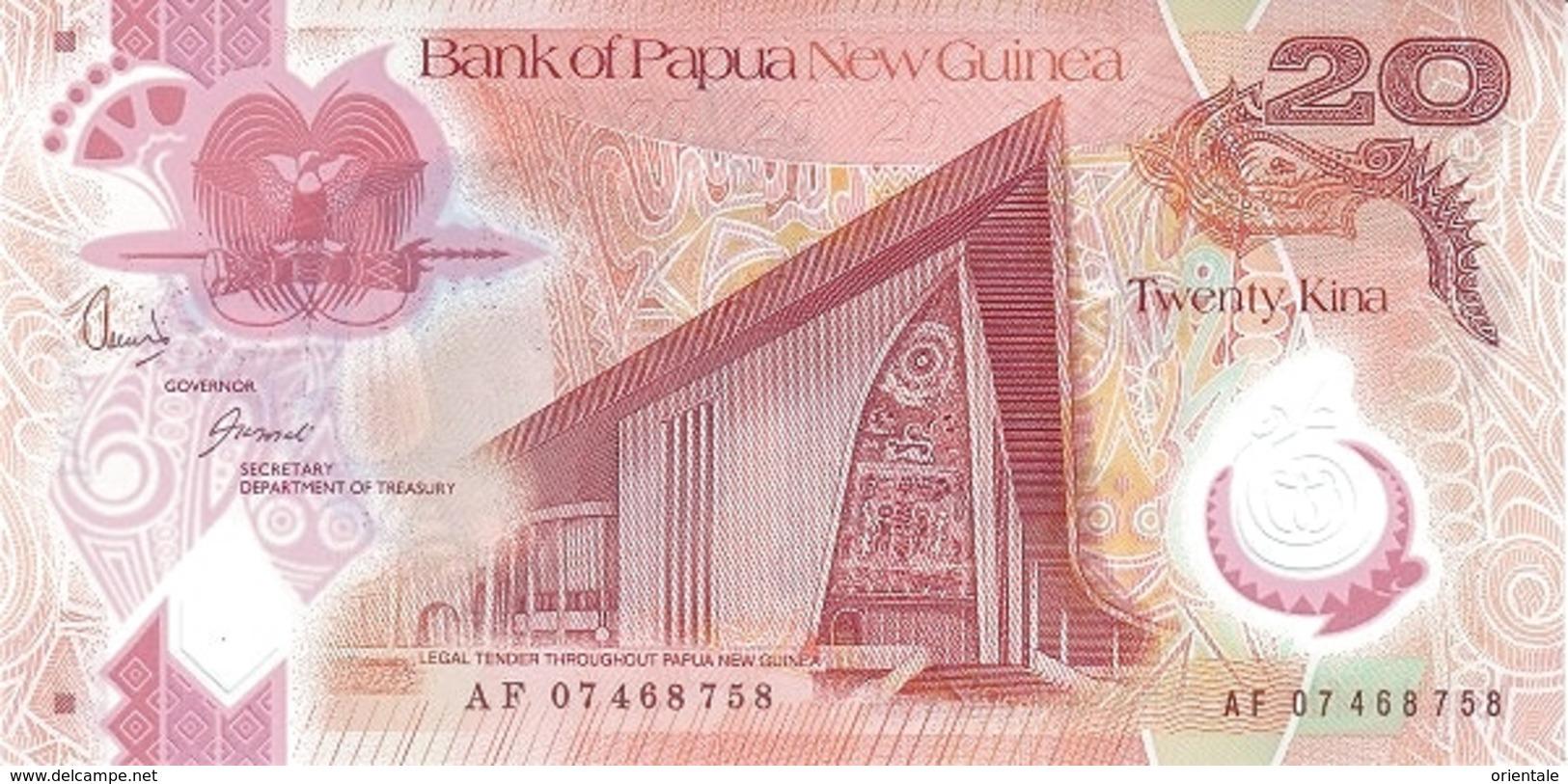 PAPUA NEW GUINEA P. 31a 20 K 2007 UNC - Papua New Guinea