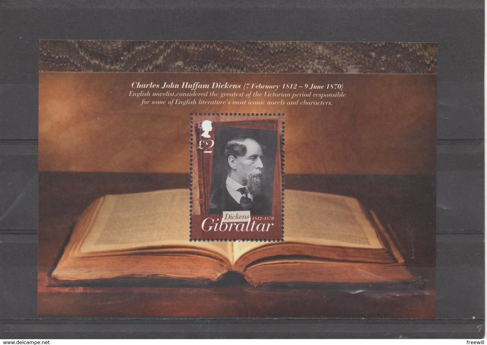 Charles Dickens - Gibraltar