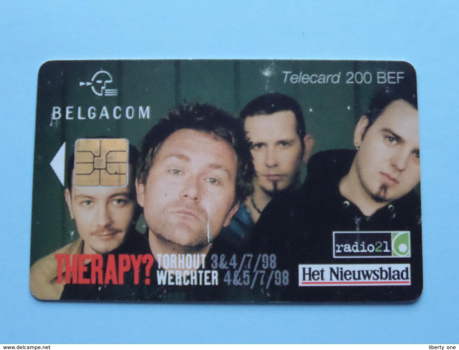 THERAPY ? TORHOUT - WERCHTER 1998 ( Zie Foto's ) Belgacom Met Chip ! - Music