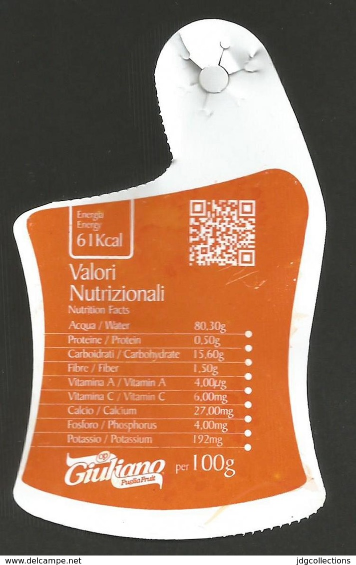 # UVA DI PUGLIA GIULIANO GRAPE Italy Seedless Fruit Tag Balise Etiqueta Anhänger Cartellino Raisin Uvas Traube - Fruits & Vegetables