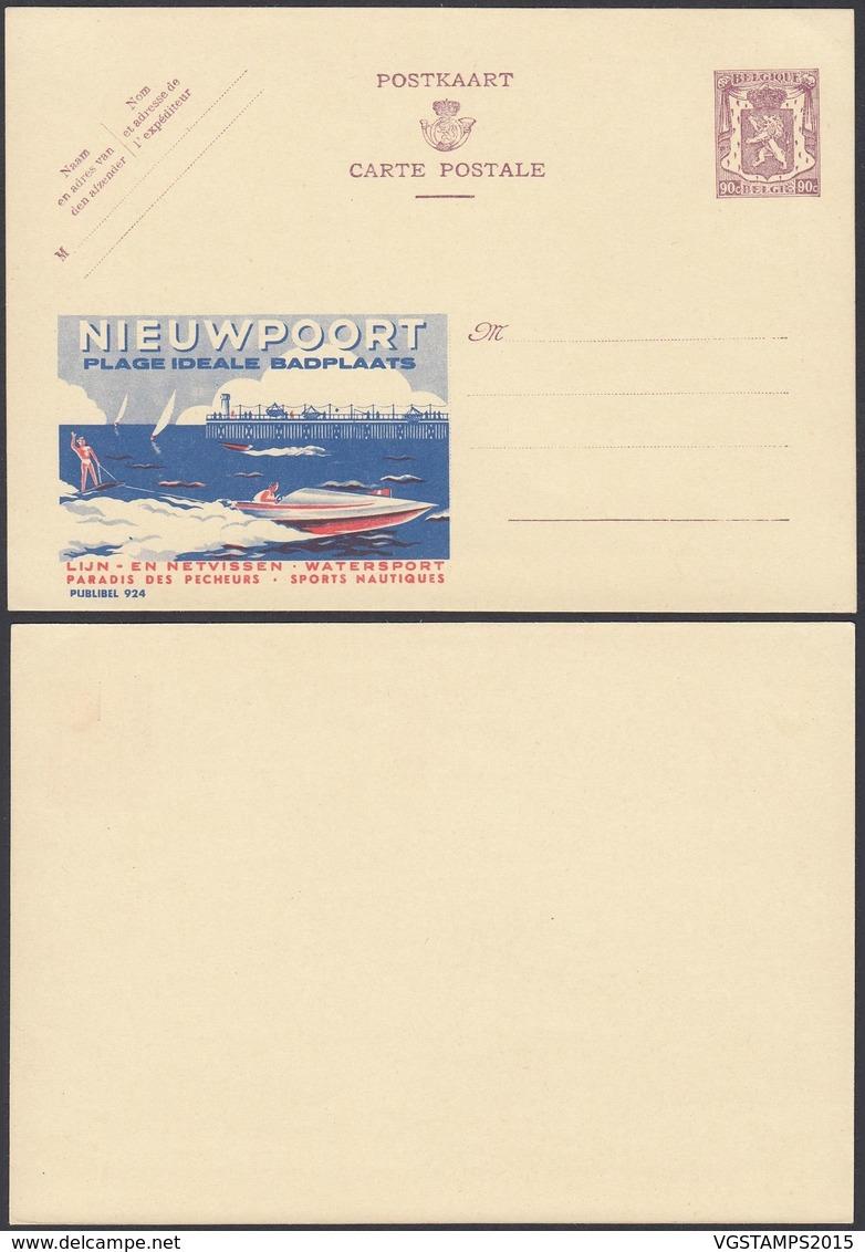 Publibel 924 - 90C - Thématique Bateau, Sports, Plage, Tourisme (6G23184) DC0699 - Enteros Postales