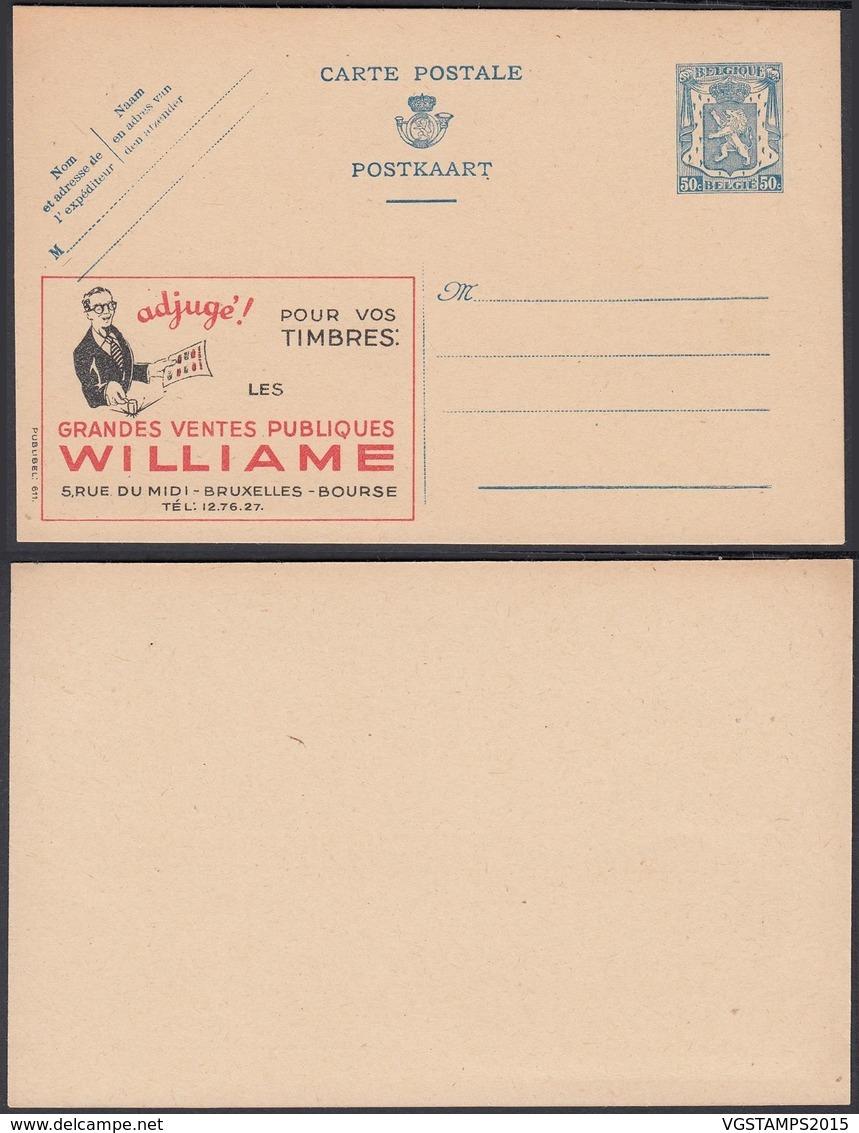 Publibel 611 - 50C - Thématique Marchand De Timbres (6G23184) DC0717 - Stamped Stationery