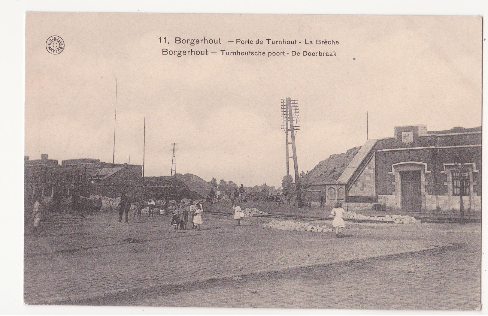 Borgerhout: Turnhoutsche Poort: De Doorbraak. - Antwerpen