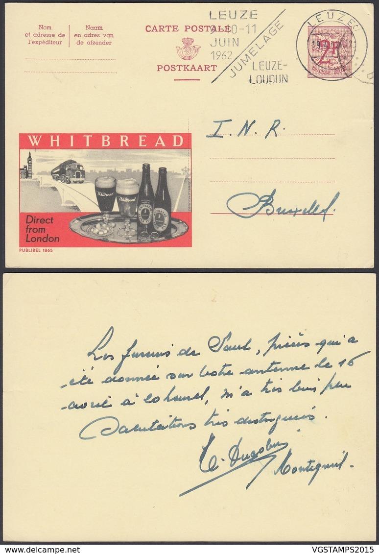 Publibel 1865 - 2F - Thématique Bière, Camion (6G23184) DC0735 - Stamped Stationery