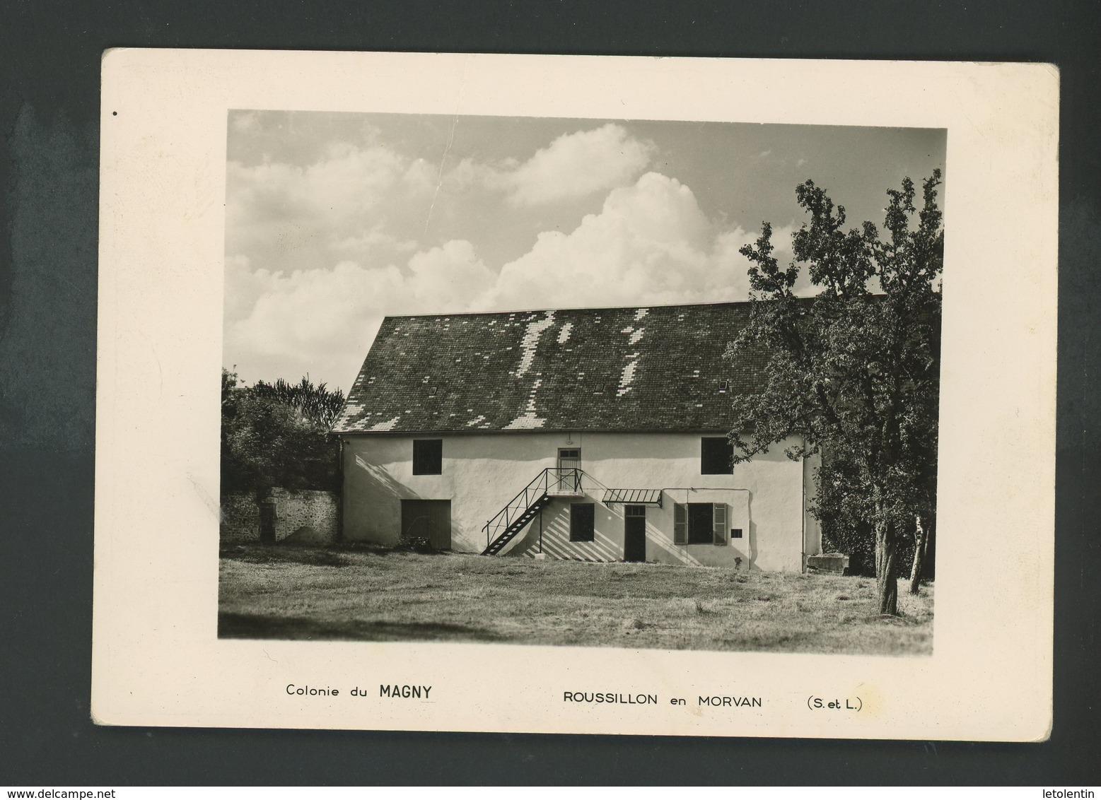 CPM -71- ROSSILLON EN MORVAN - COLONIE DE MAGNY - - France