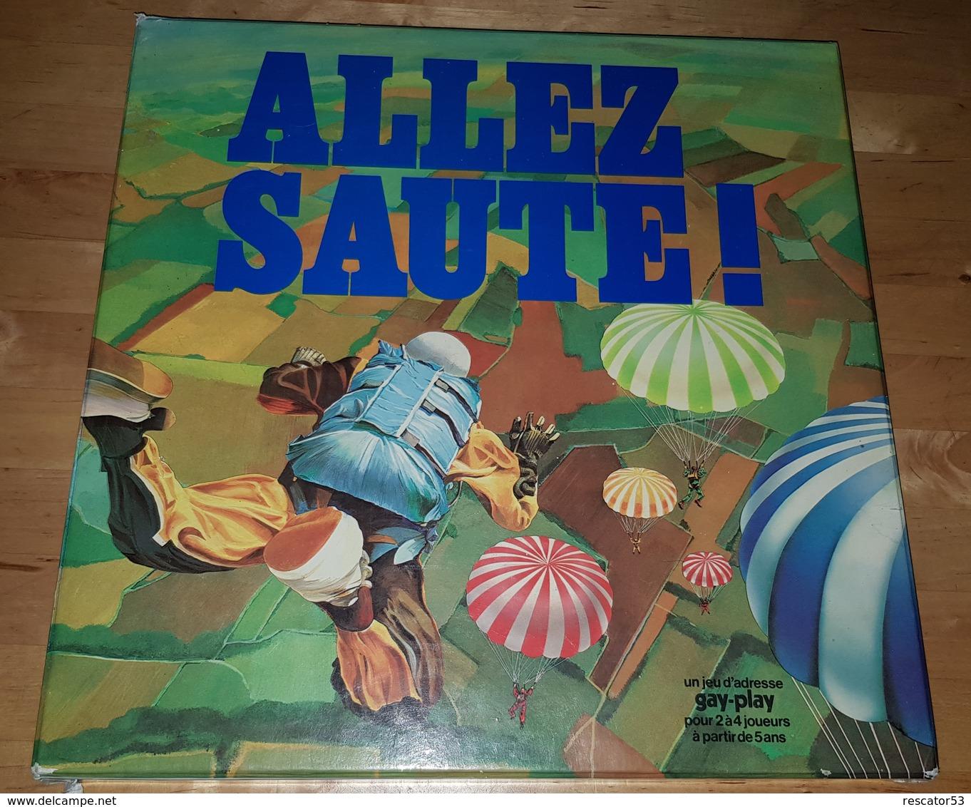 """Rare Jeux """" Allez Saute """" Années 70-80 - Toy Memorabilia"""