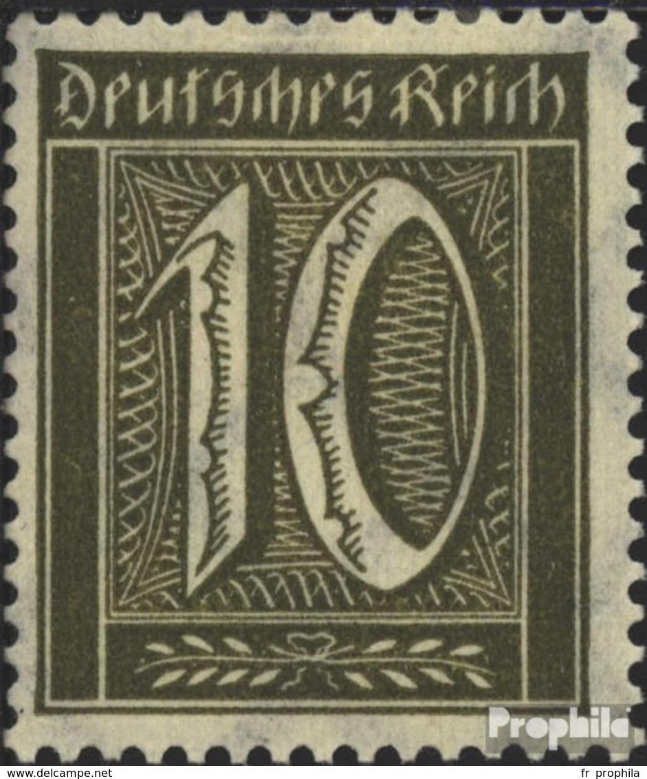 Allemand Empire 178 Avec Charnière 1921 Filigrane Gaufres - Deutschland