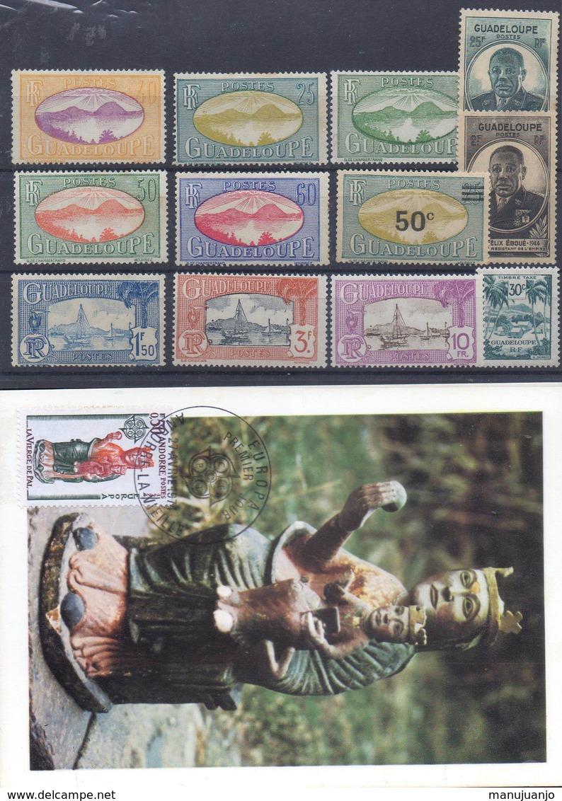FRANCE ! CARTE 1er JOUR Et Timbres De Martinique NEUFS * Depuis 1920 - Martinique (1886-1947)