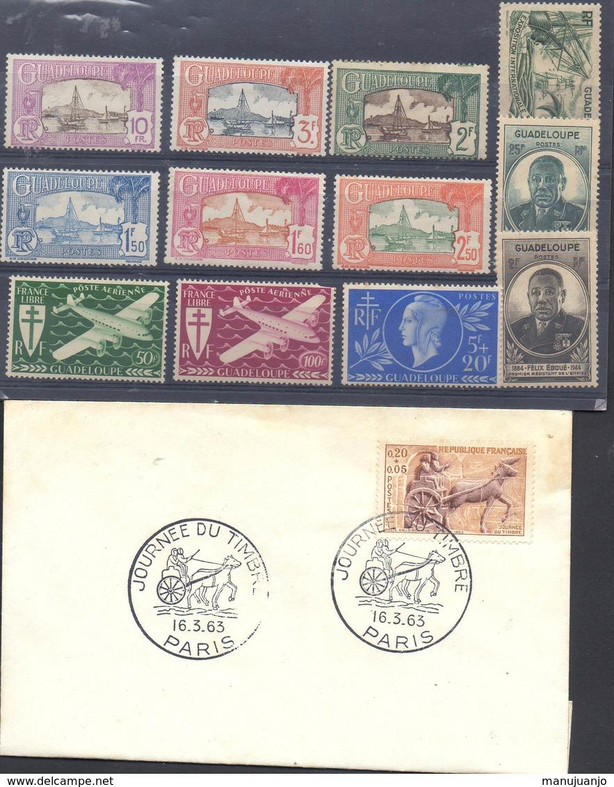 FRANCE ! LETTRE 1er JOUR Et Timbres De Martinique NEUFS * Depuis 1920 - Martinique (1886-1947)