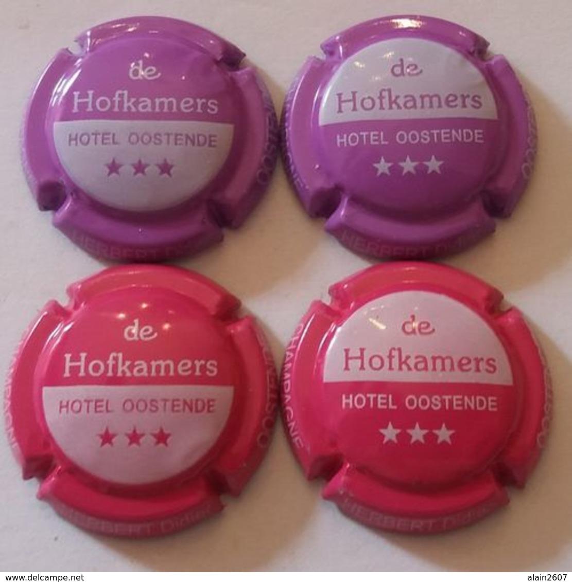 4 BELLES CAPSULES CHAMPAGNE HERBERT DIDIER HOFKAMMERS NEWS - Collections