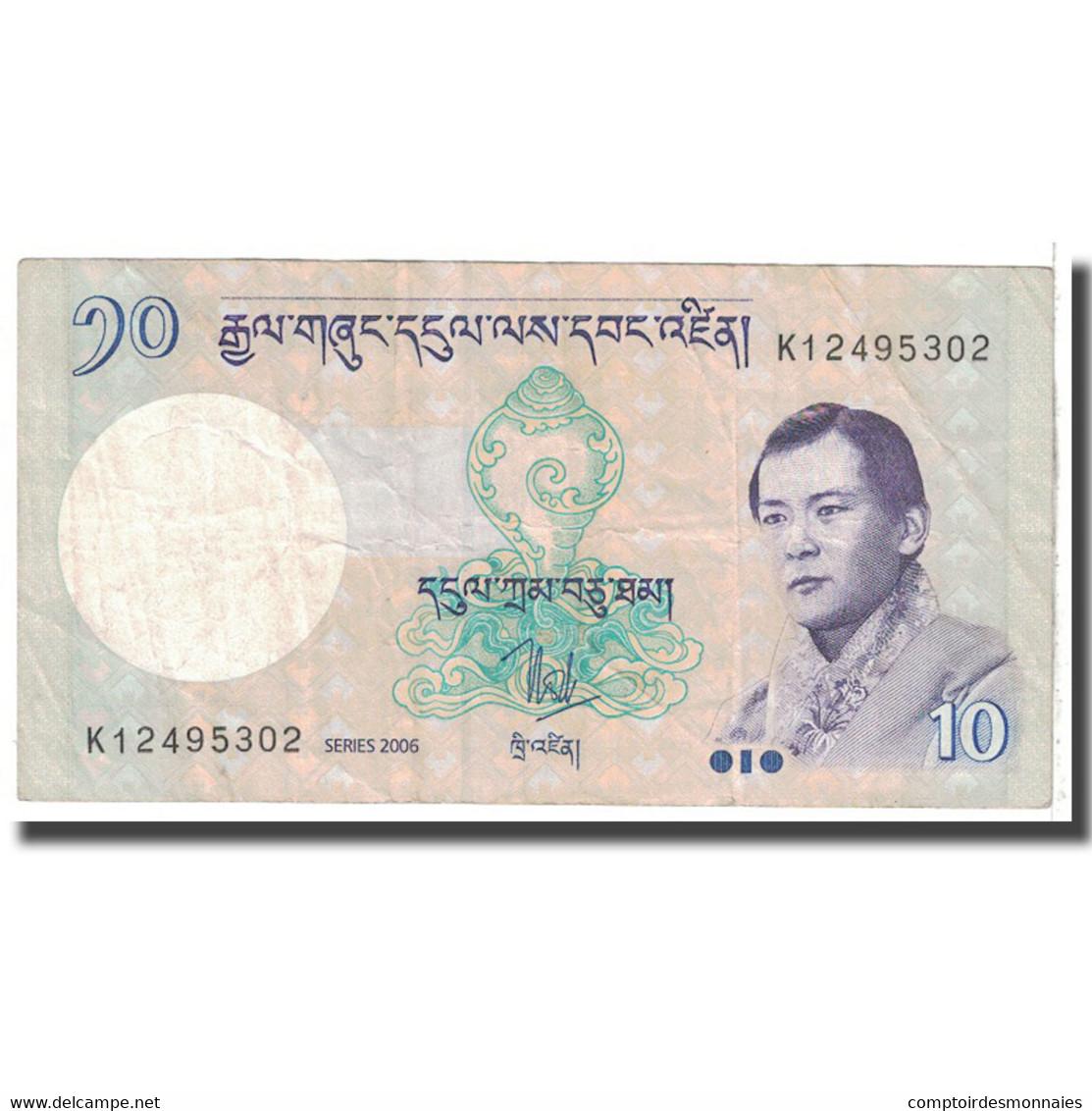 Billet, Bhoutan, 10 Ngultrum, 2006, KM:29, B - Bhoutan