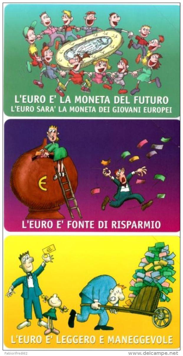 SERIE SCHEDE TELEFONICHE NUOVE RSM 83-5 BENVENUTO EURO - San Marino