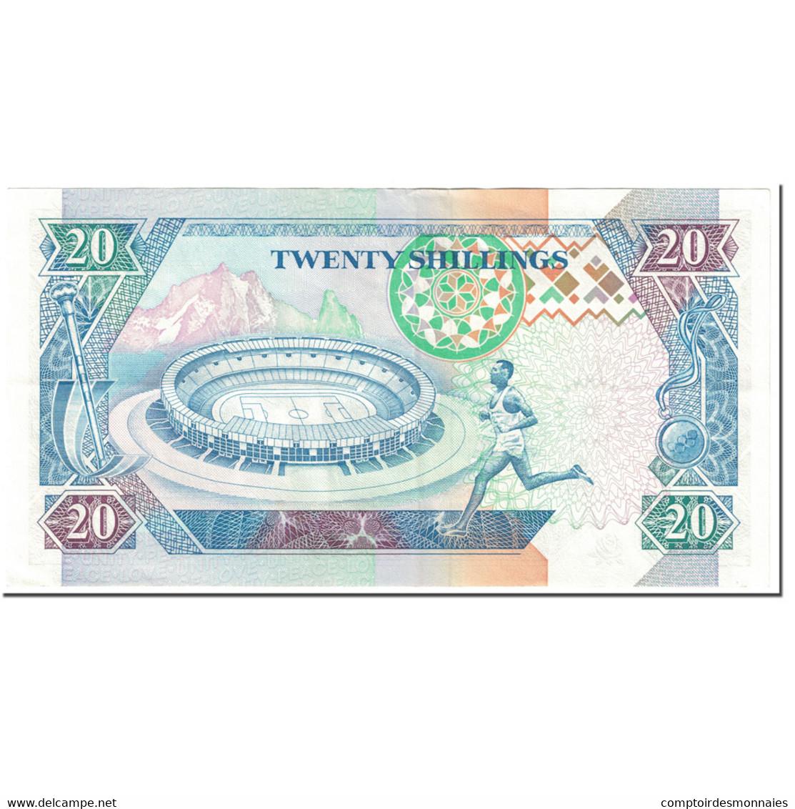 Billet, Kenya, 20 Shillings, 1993, 1993-09-14, KM:31a, SUP - Kenia
