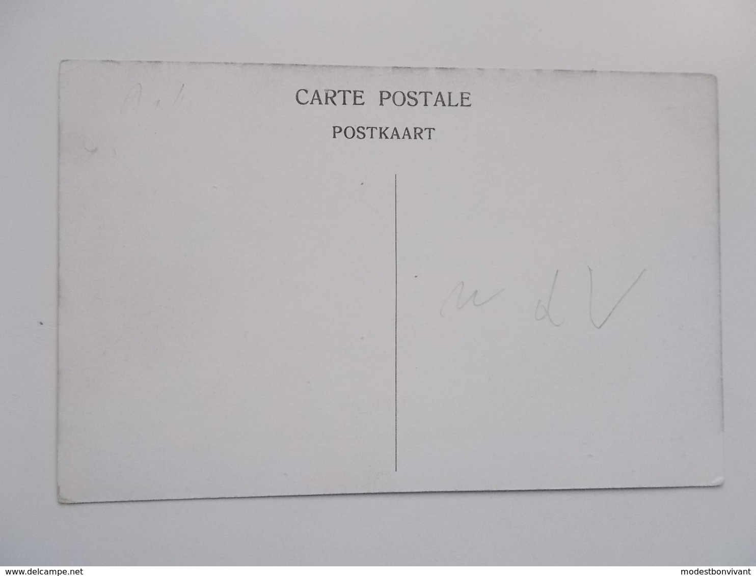 CPA Original:  BERCHEM 1914 - Vijfhoekstraat , Oorlogs- Bombardement, Cliché Mauquoy, Nadruk Verboden - Antwerpen