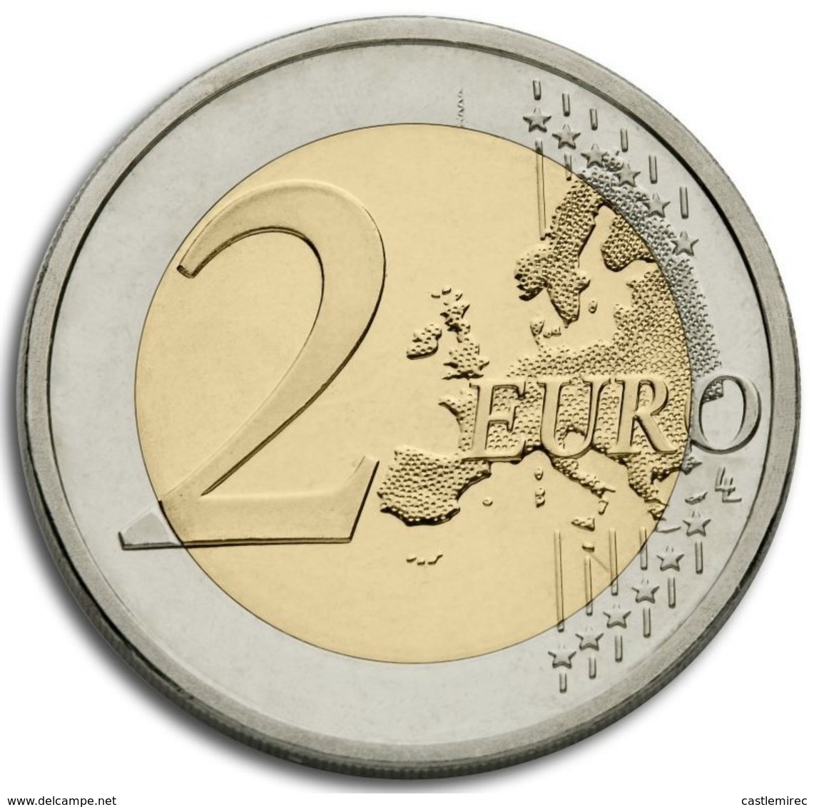 SLOVAKIA_2 Euro UNC 2015 (30th Anniversary Of The Flag Of Europe) - Slovaquie