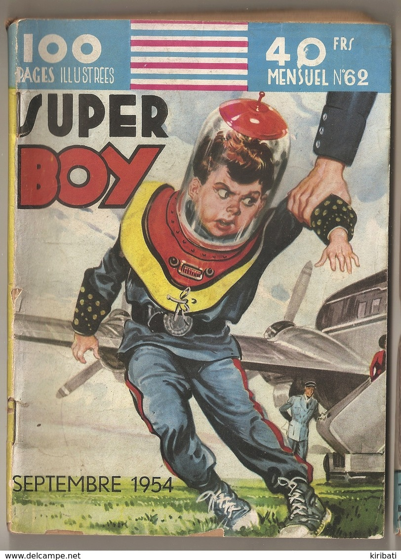 B D SUPER BOY N° 62  EDITIONS IMPERIA - Piccoli Formati
