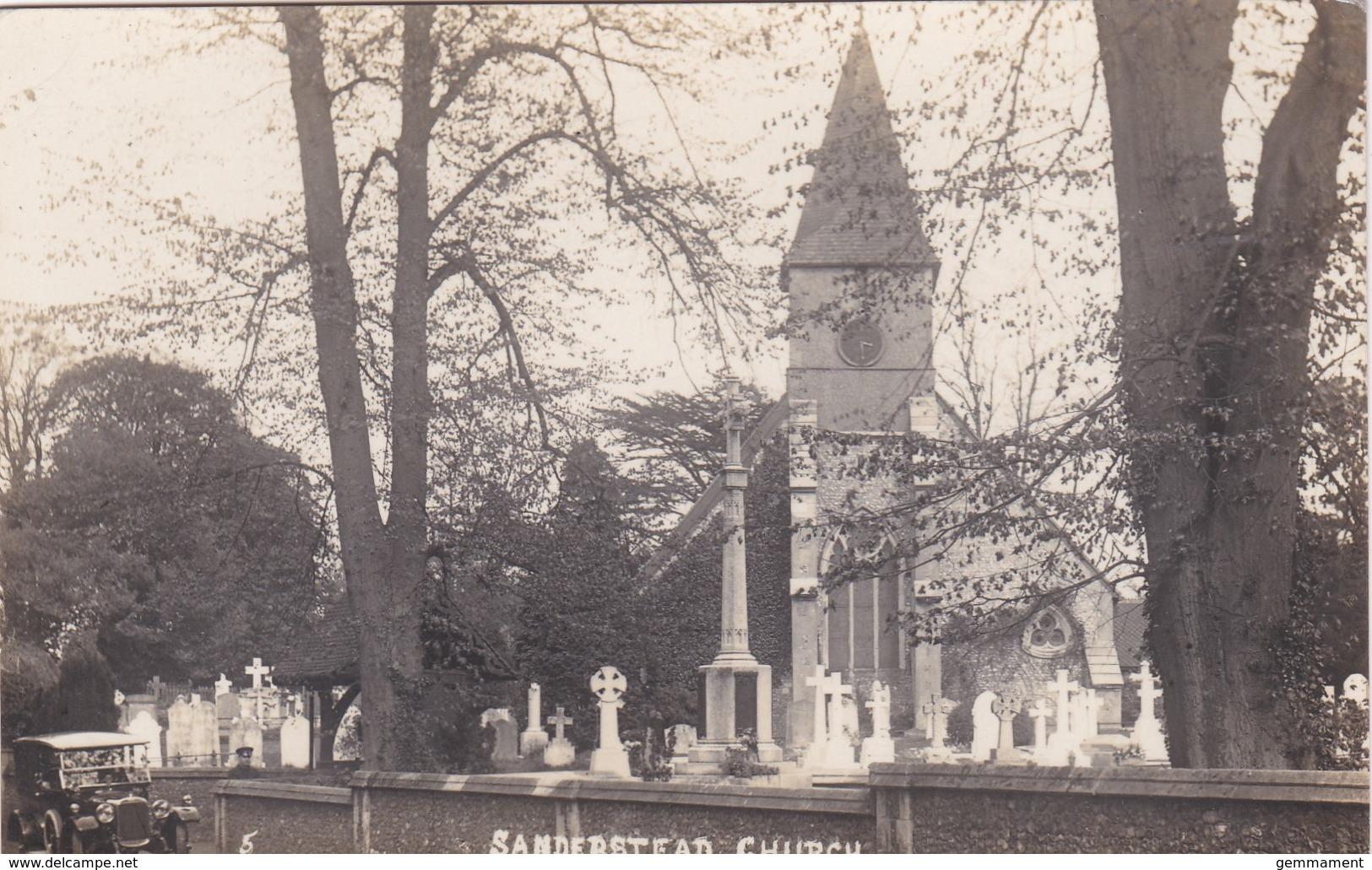 SANDERSTEAD CHURCH - Surrey