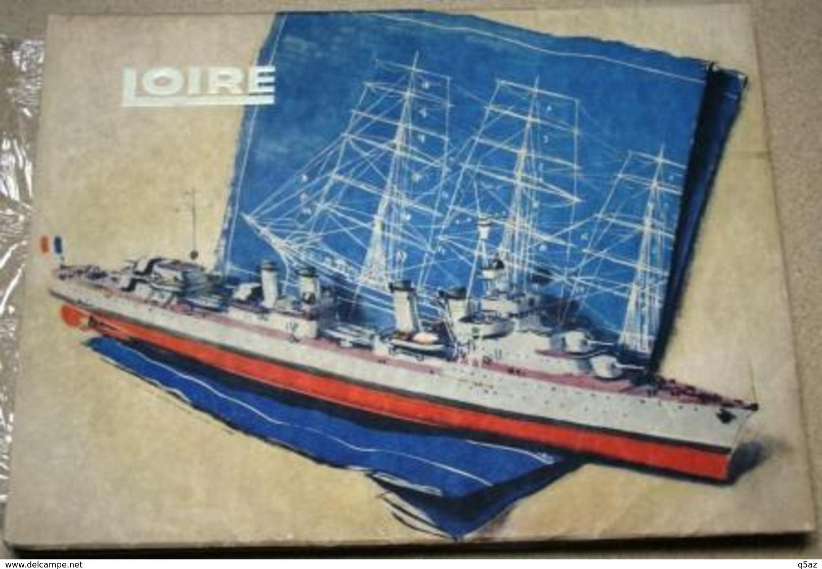 El1.u- Albert Brenet 1952 Paquebot Chantiers Loire Nantes St Nazaire Penhoet Atlantique Construction Navale Roger Vercel - Sciences & Technique