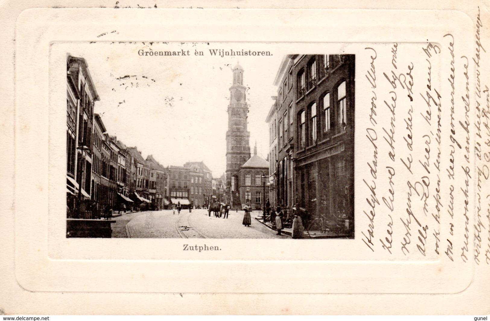 21 Sep 02  Ansicht Van ZUTPHEN Naar Zeist Met NVPH34 - Periode 1891-1948 (Wilhelmina)