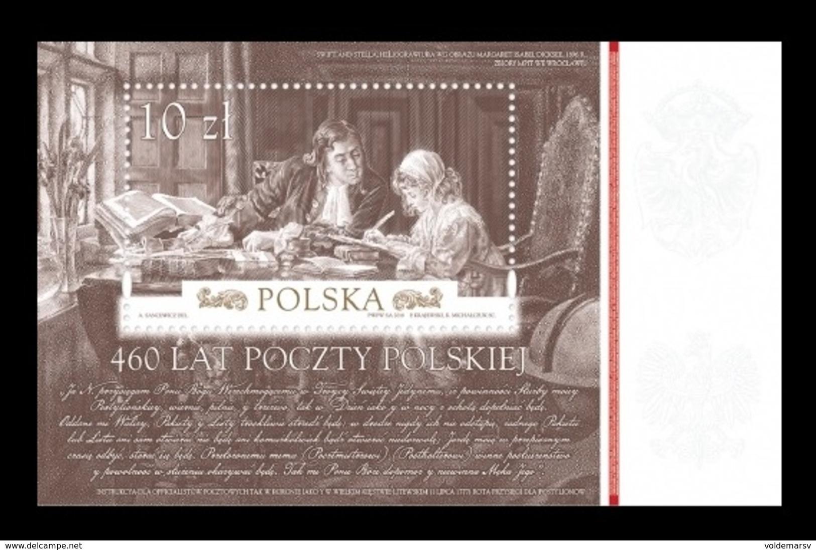 Poland 2018 Mih. 5025 (Bl.277) Polish Post MNH ** - 1944-.... Republic