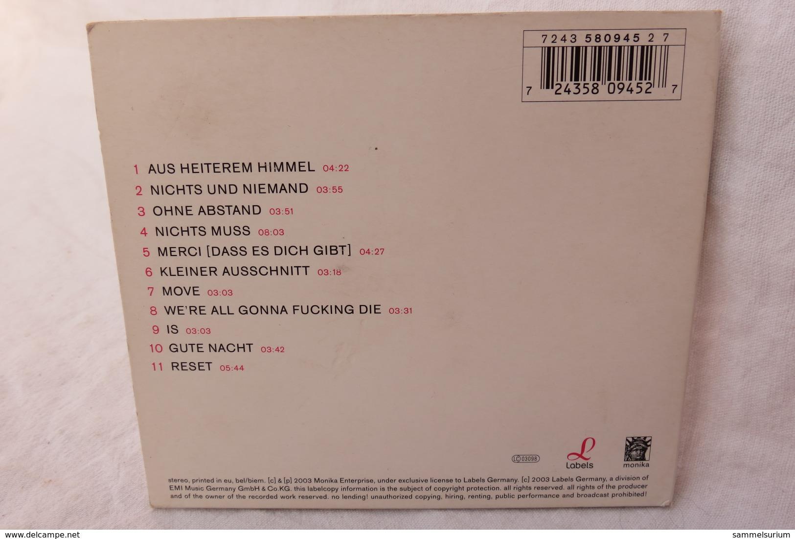 """CD """"Barbara Morgenstern"""" Nichts Muss - Sonstige - Deutsche Musik"""