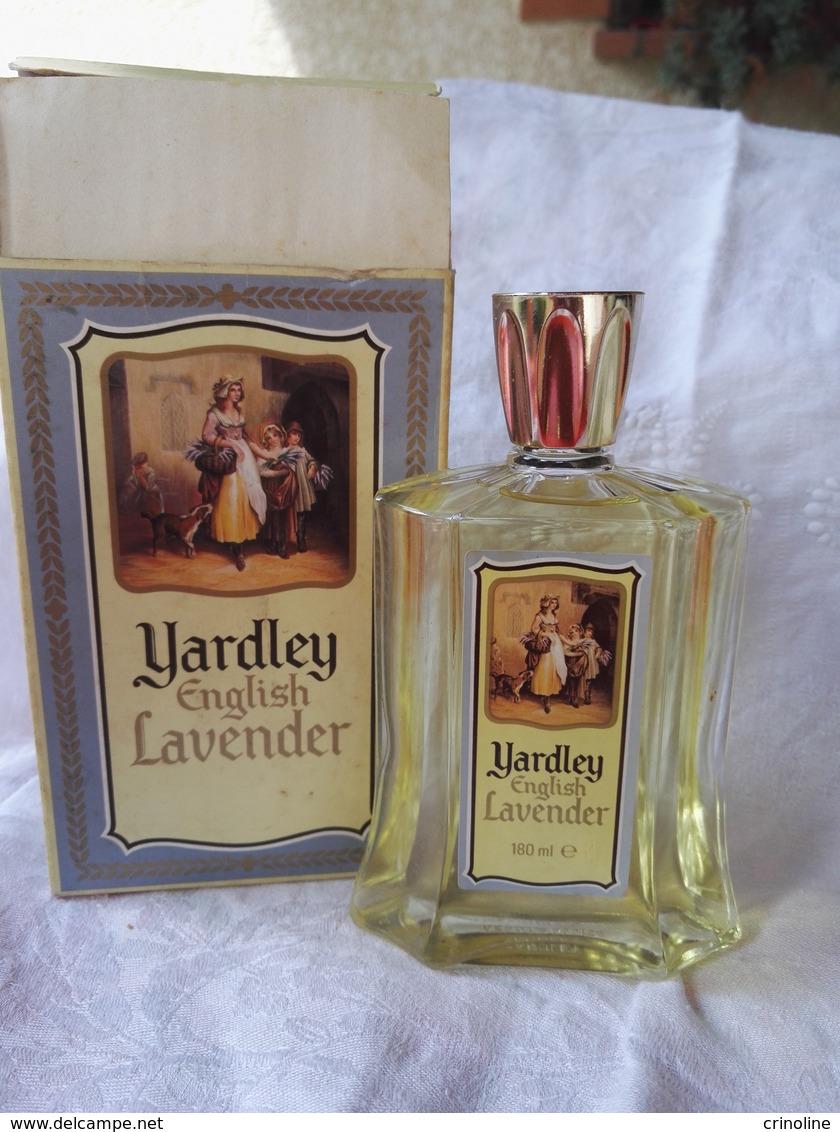 Flacon Plein Ancien Yardley Lavender 180 Ml - Miniature Bottles (in Box)