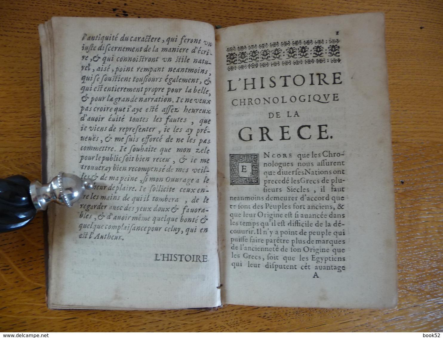 Histoire Générale De La GRECE (1669) - Livres, BD, Revues