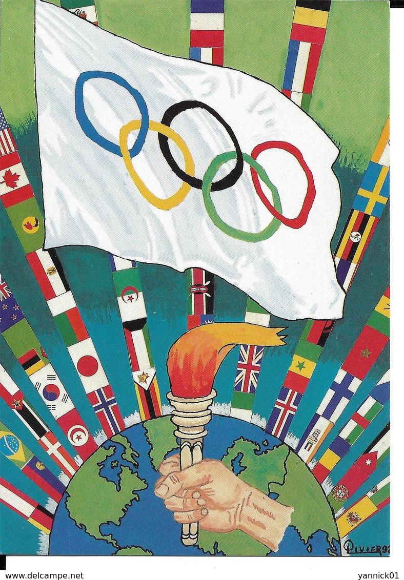 JEUX OLYMPIQUES 1894 1994 - CENTENAIRE CIO - COMITE OLYMPIQUE INTERNATIONAL - Jeux Olympiques