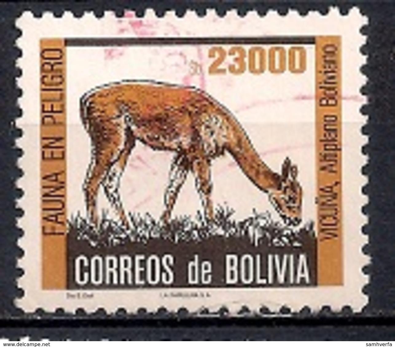Bolivia 1985 - Endangered Animals - Bolivia