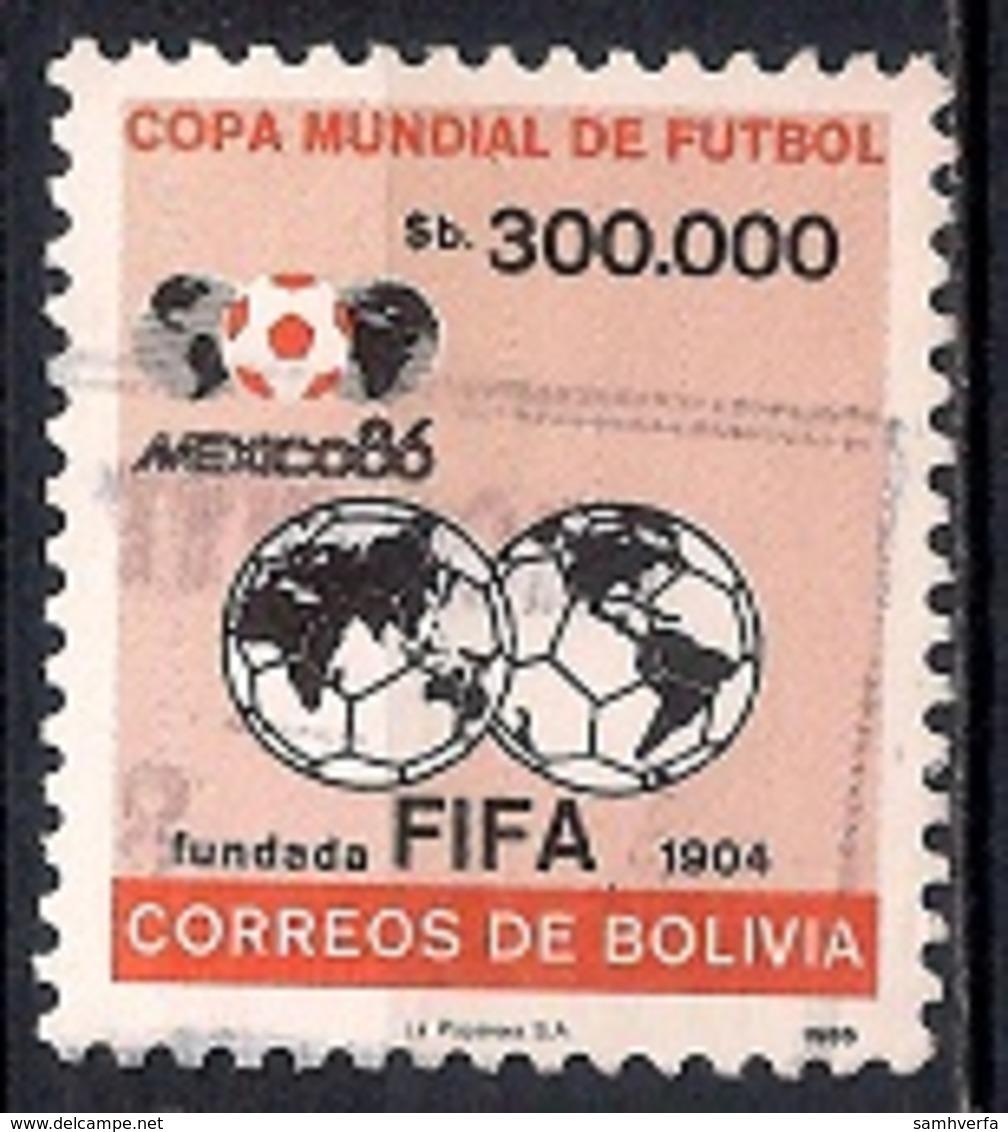 Bolivia 1986 - Football World Cup - Mexico - Bolivia