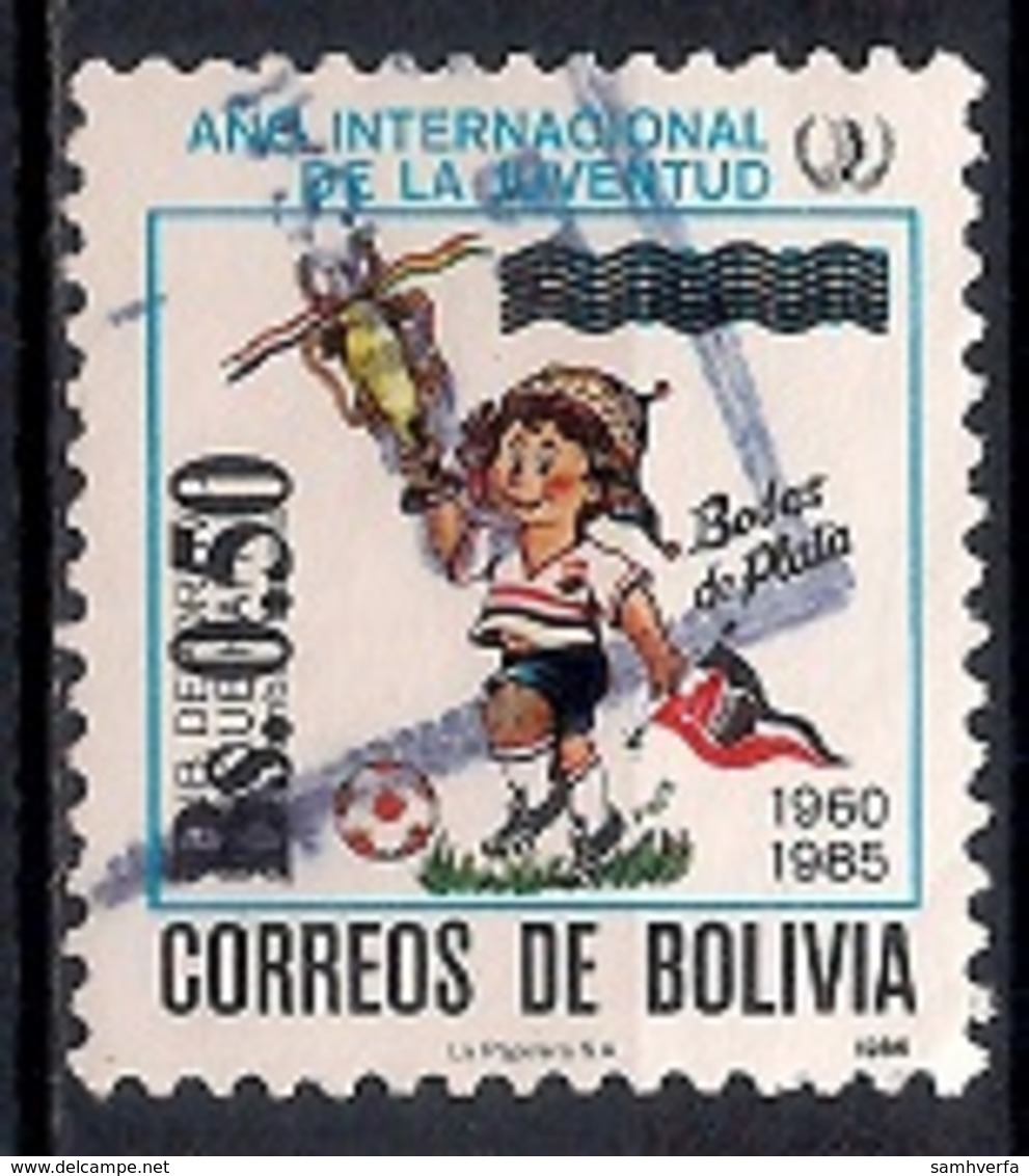 Bolivia 1986 - International Youth Year - Bolivia