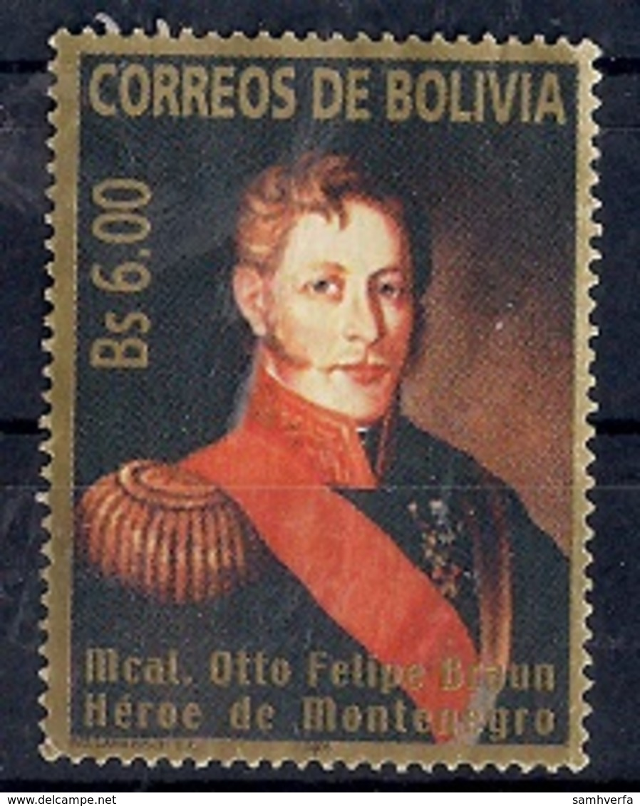 Bolivia 2005 - Mcal. Otto Felipe Braun - Bolivia