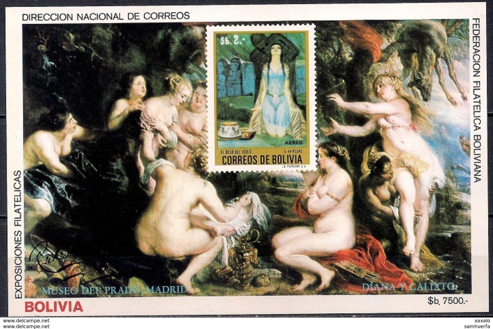 Rubens - Painting - Art - Bolivia 1984 - MINT Sheet (Cat. +50€) - Bolivia