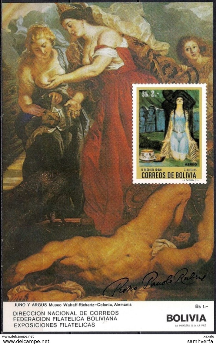 Rubens - Painting - Art - Bolivia 1987 - MINT Sheet (Cat. +25€) - Bolivia