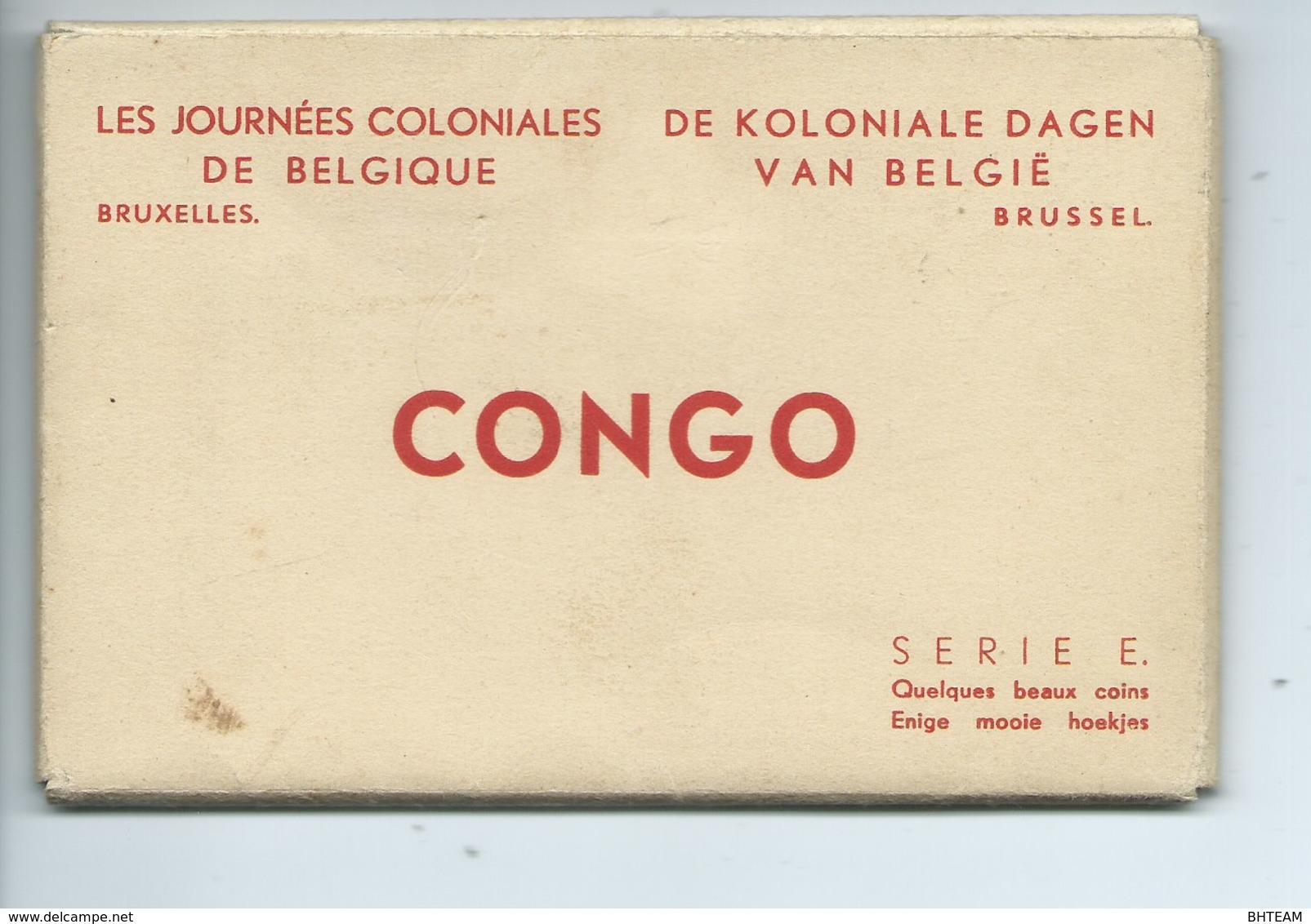 Congo Belge Les Journées Coloniales De Belgique ( Carnet De 12 Cartes ) Leopoldville Etc. - Belgian Congo - Other