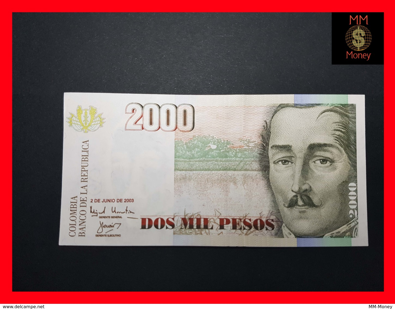 COLOMBIA 2.000 2000 Pesos 2.6.2003 P. 451  UNC - Colombie