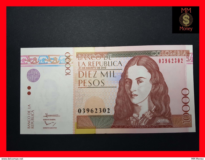 COLOMBIA 10.000 10000 Pesos 21.8.2012  P. 453 UNC - Colombie