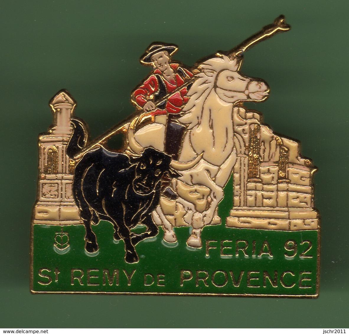 SAINT REMY DE PROVENCE *** FERIA 92 *** Signe ATLANTIS *** 0086 - Bullfight - Corrida