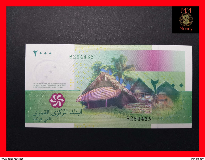 COMOROS 2.000 2000 Francs 2005  P. 17   UNC - Comores