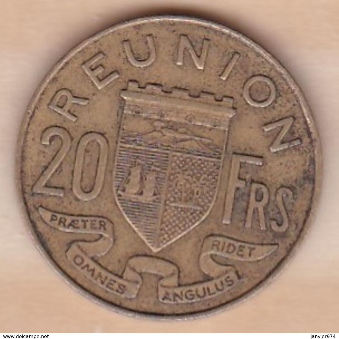 ILE DE LA REUNION. 20 FRANCS 1969 - Réunion