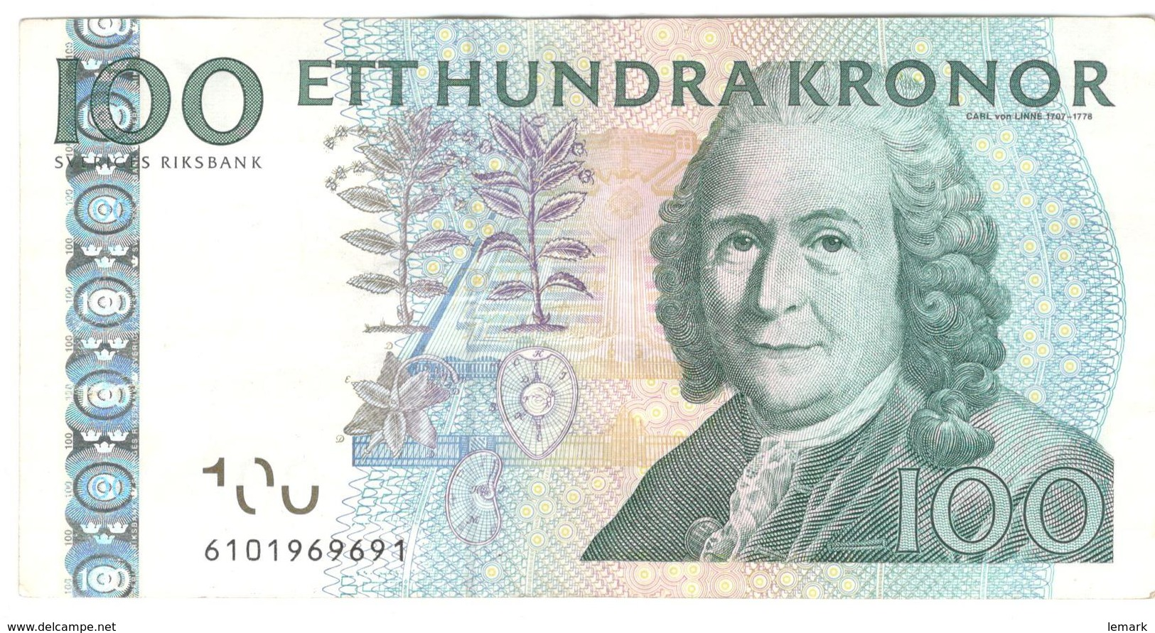 Sweden 100 Kronor 2006 P65c VF - Suède