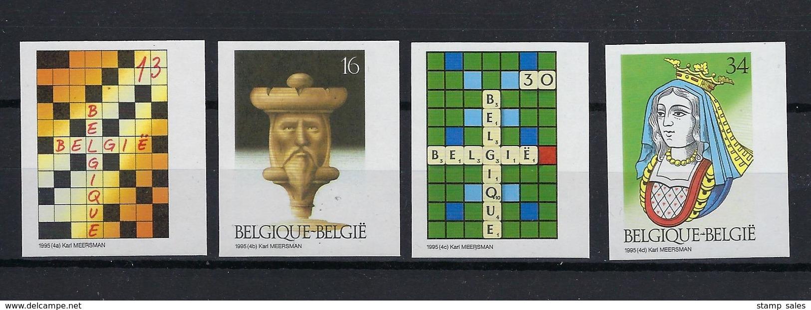 N°2592ND/2595ND (genummerd 492) MNH ** POSTFRIS ZONDER SCHARNIER COB € 60,00 SUPERBE - Belgique