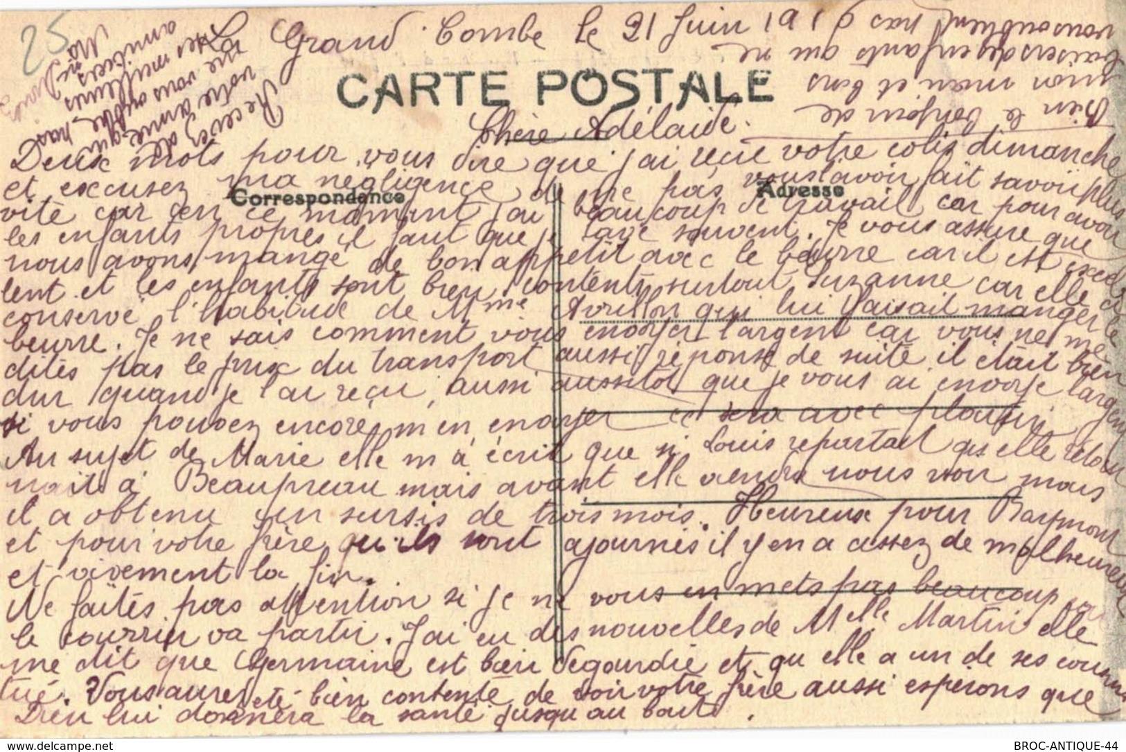 CPA N°23922 - LA GRAND-COMBE - INTERIEUR DE L' EGLISE - La Grand-Combe