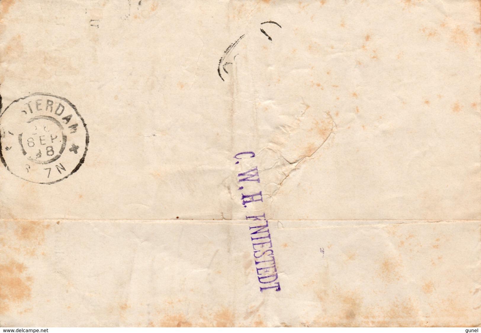 26 SEP 98 Betalingsbevel Lokaal Te Amsterdam Met NVPH 34 Met Gr.rond - Periode 1891-1948 (Wilhelmina)