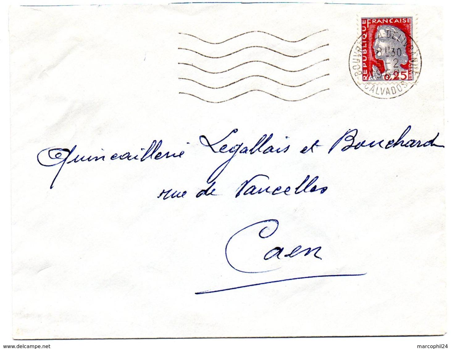 CALVADOS - Dépt N° 14 = DOUVRES LA DELIVRANDE 1962 = FLAMME Non Codée = SECAP Muette '5 Lignes Ondulées' - Mechanical Postmarks (Advertisement)