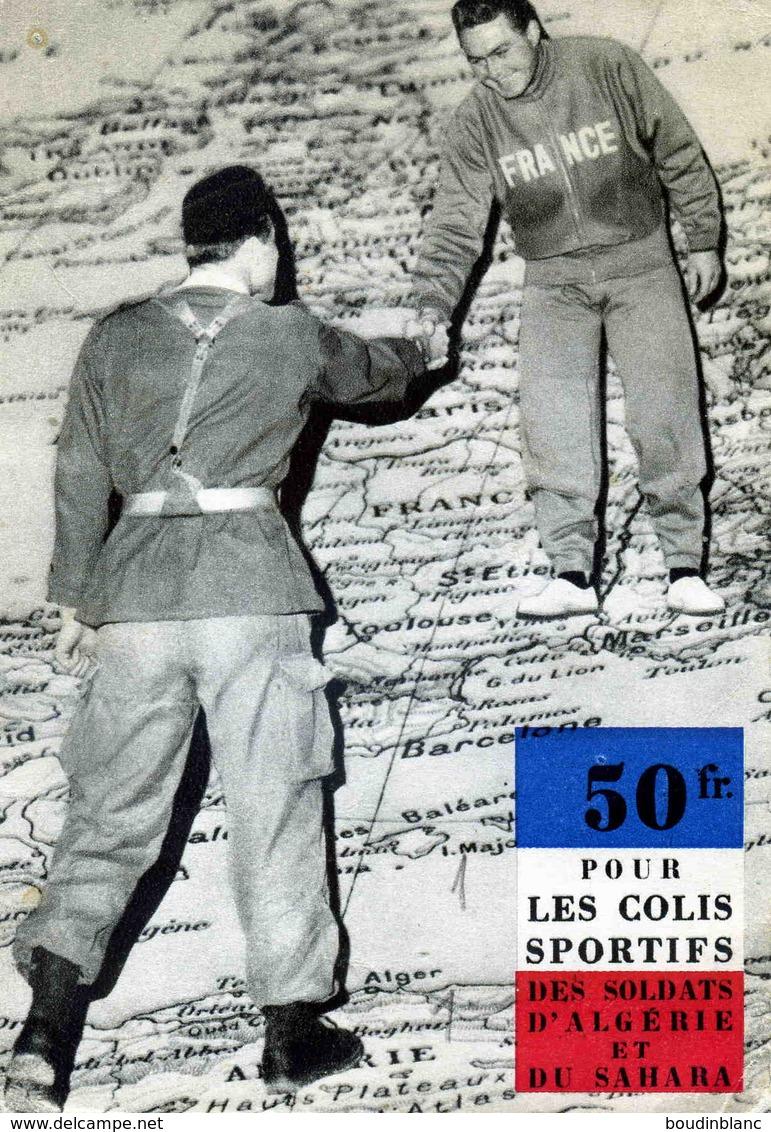 Solidarité Sportive Avec Les Soldats D'Algérie / CP , Sorte De Réseau Social B/TB - Storia Postale