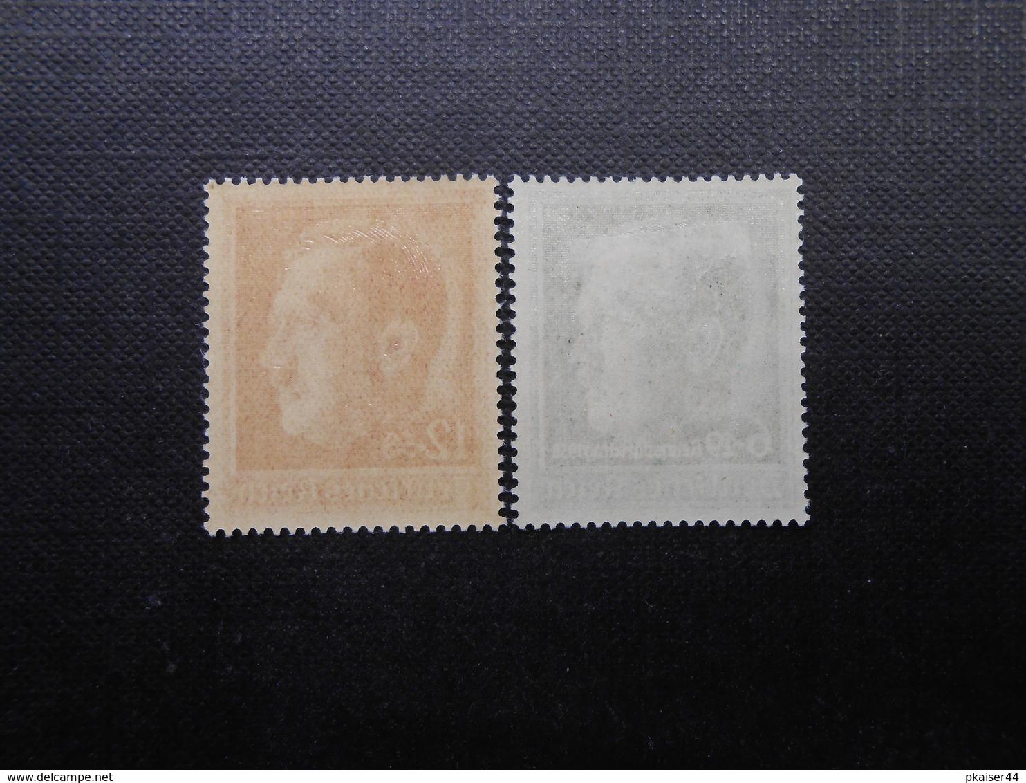 D.R.Mi 664**MNH/ 672*MLH - 1938 - Mi 16,00 € - Unused Stamps